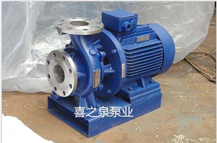 电动IHW100-200体育万博app化工管道泵耐腐蚀304材质