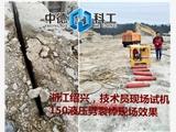西藏拉薩礦山洞采分裂棒操作簡單