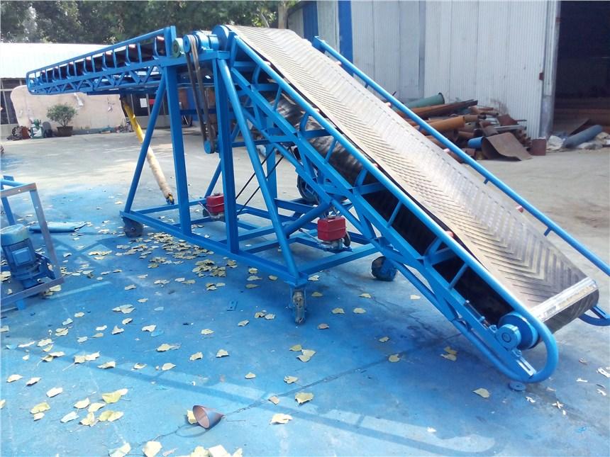滚桶输送机防油耐腐 可调节高度输送机