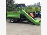 60度养殖清粪车报价 粪便清理堆肥车清粪车制造商