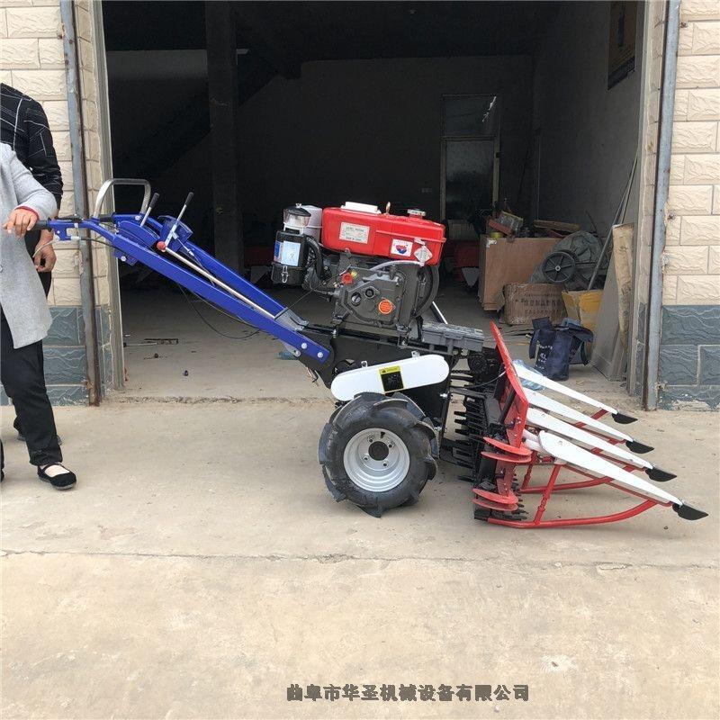 結構簡單手扶拖拉機帶動收割機 牧草收割機低茬輕便割草