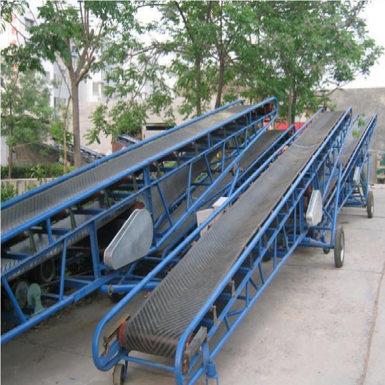 轻型皮带输送机专业制作批发 倾斜式自动升降输送机