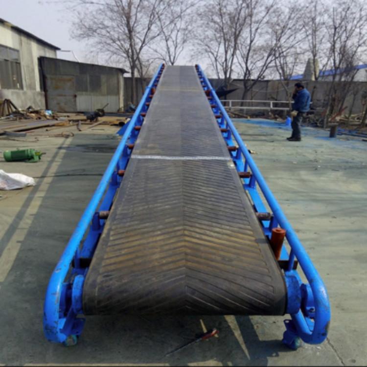 曲阜输送机制作厂家   倾斜式自动升降输送机 不锈钢输送机