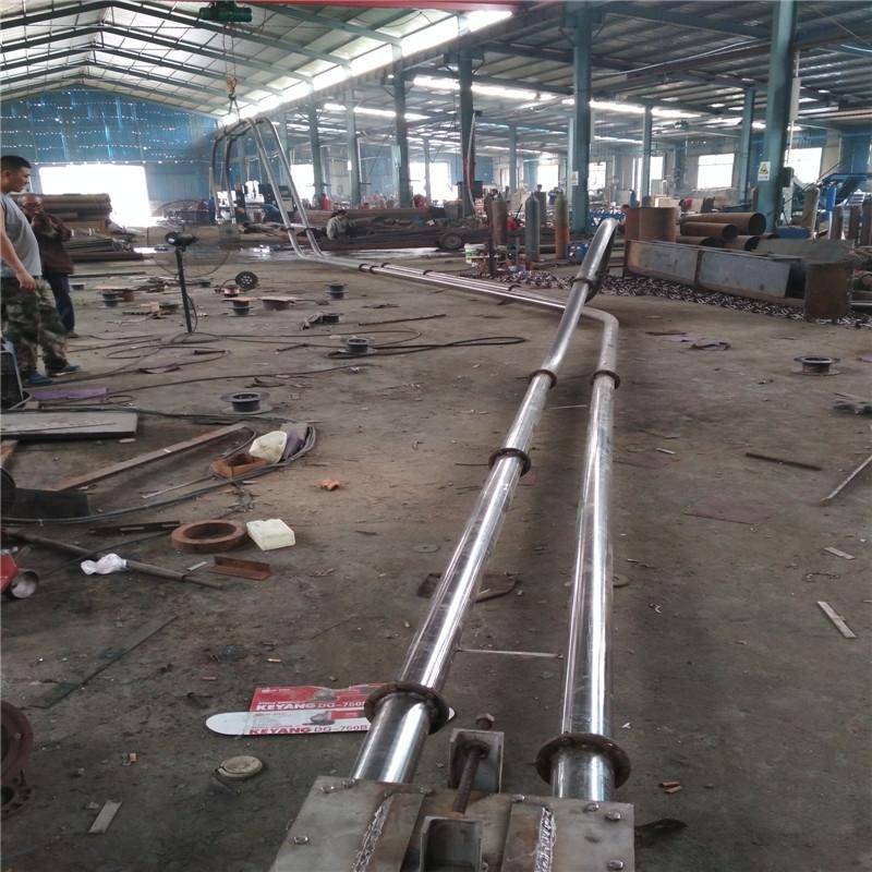 销售管链输送机公司厂家推荐 矿粉输送机