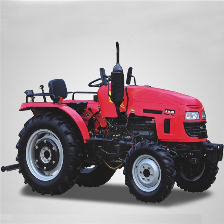 柴油动力拖拉机  四驱四轮拖拉机  低矮型四轮拖拉机