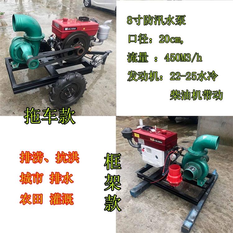 農田灌溉水泵, 排水抗洪抽水機, 柴油水泵