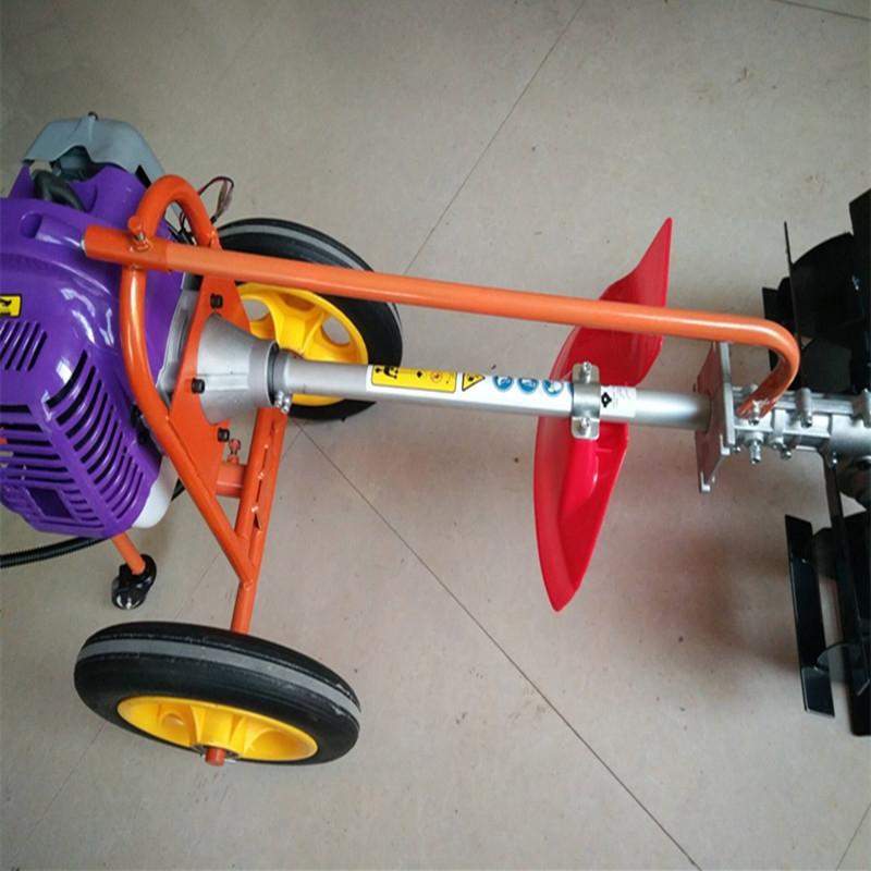 多功能松土除草机 背负式汽油轻便开沟机 旋耕微耕机价格图片图片