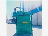 立式无纺布废料压块机 半自动废纸打包机 海绵座垫挤包机厂家