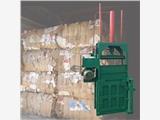 立式铁皮桶压扁机 半自动易拉罐打包机 胶皮管打捆机厂家