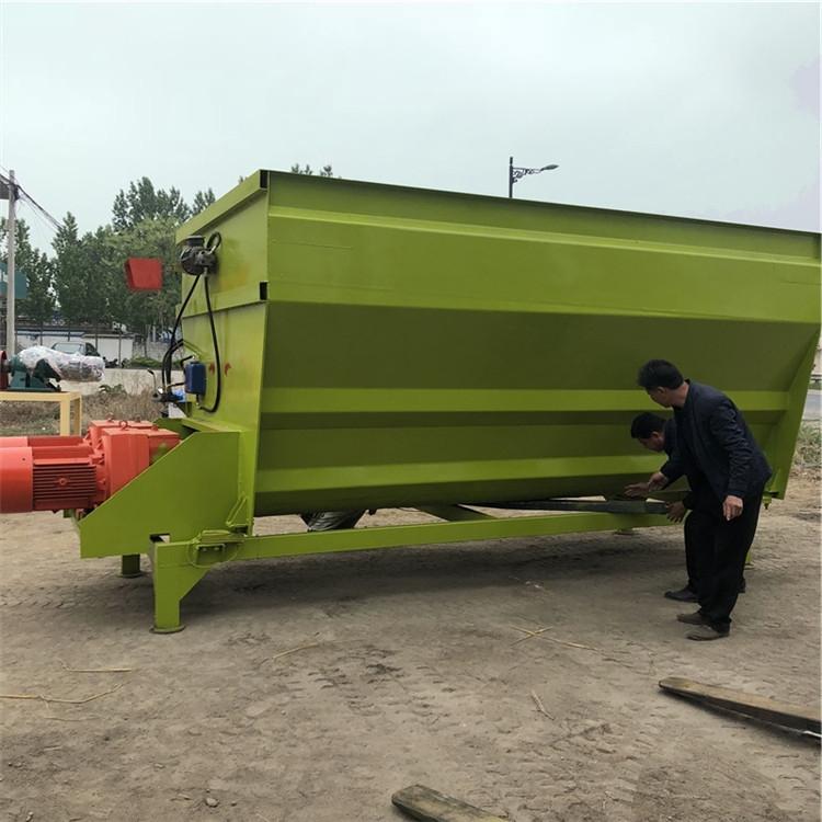 新疆石河子市減輕人工勞動強度牽引式攪拌車現貨