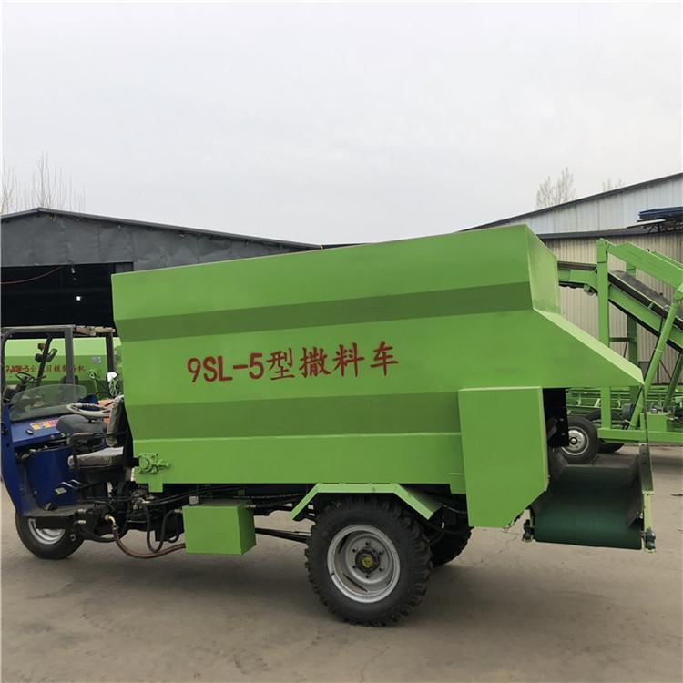 西藏牛羊撒料車電動撒料車廠家直銷