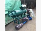 产量高粪便脱水机 低价粪便处理机厂家 猪粪挤干机