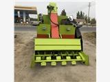 铲粪装卸一体清粪车 一次性刮干净地面粪便