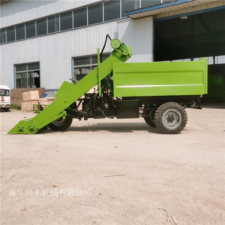 刮板式清粪车 卧床粪便清理车 液压控制清粪车