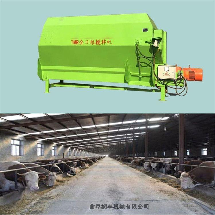供應 臥式攪草機 稱重日糧攪拌機 潤豐飼草料拌草機