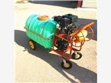 手推四轮小型喷雾器 农业环保汽油打药机 山东打药机厂家