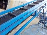 金属小颗粒重工用输送机   倾斜式斜坡输送机定做