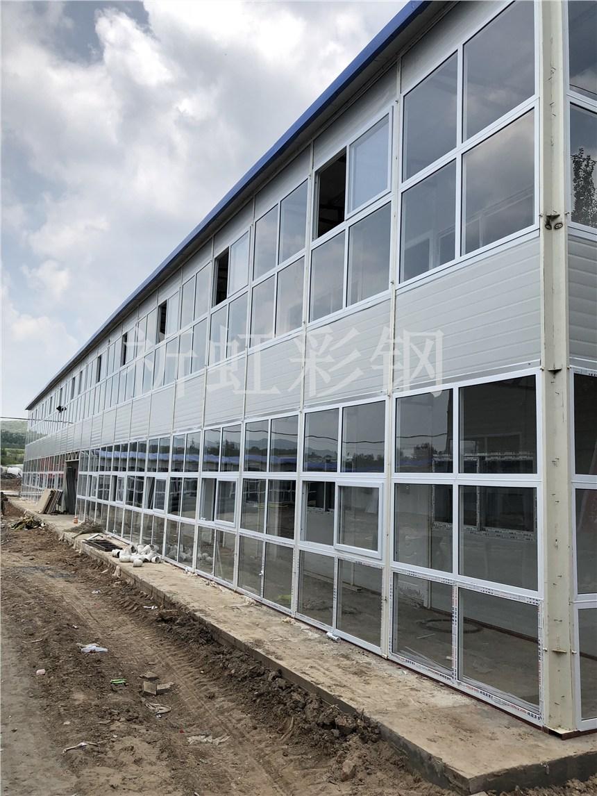 河北彩鋼房生產廠家 滄州鋼結構活動房