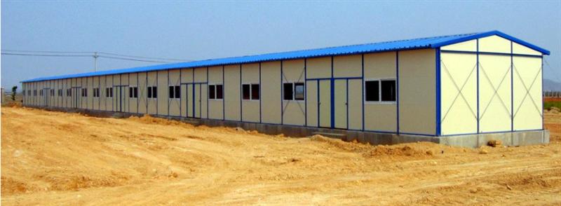 供应河北邢台低价焊接式防风彩钢房