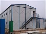 太原萬柏林搭建二層住人彩鋼板房 清徐防風保溫活動板房