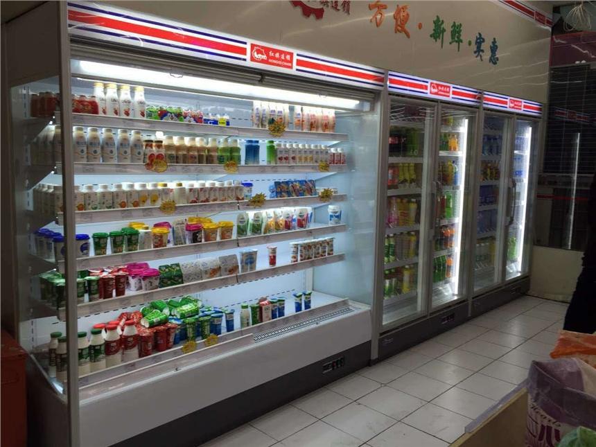 供应水果保鲜柜的厂家,郑州仟曦专业安装风幕柜