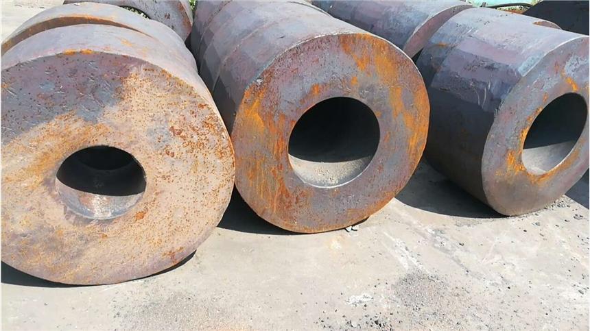 煙臺16Mn鋼坯調質+精加工交貨