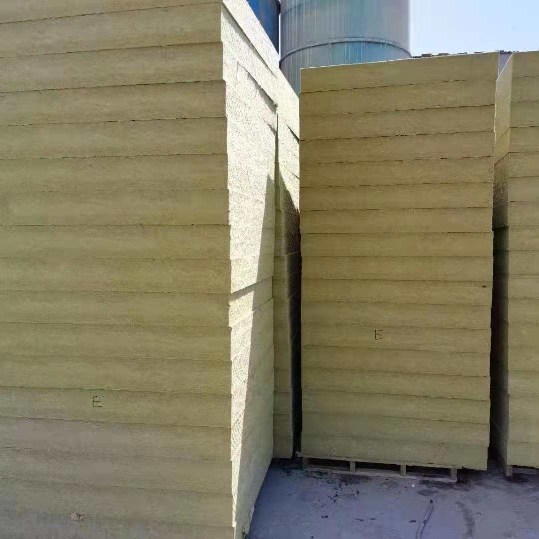 巖棉板生產廠家 外墻巖棉保溫板 加工定制巖棉板 裝飾板保溫材料