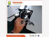 青岛震雄门封条焊接机打破了老式设备用人工修剪余料