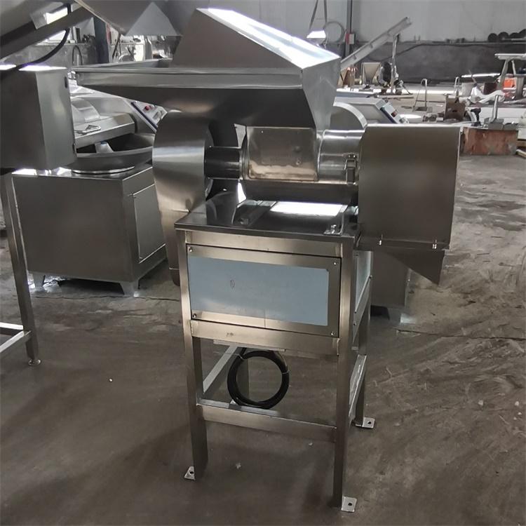牛肉辣椒酱加工绞切机 电动立式辣椒粗碎机