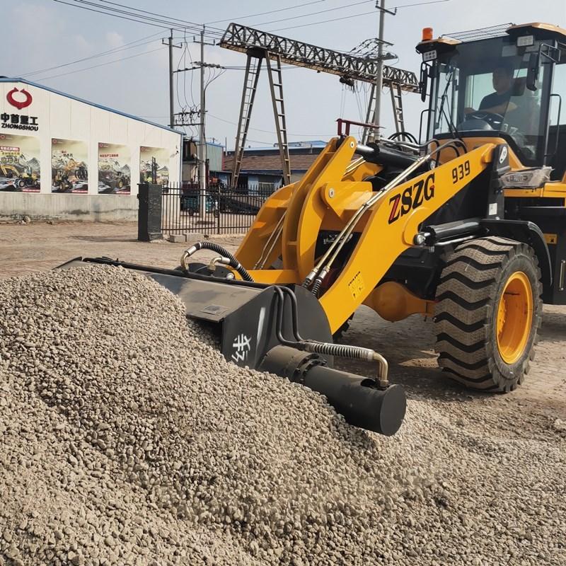 裝載機攪拌機移動攪拌機水泥沙灰攪拌斗