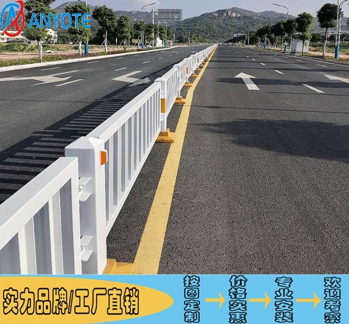 深圳公路白色防撞栏 路侧2016A款护栏 深标3护栏