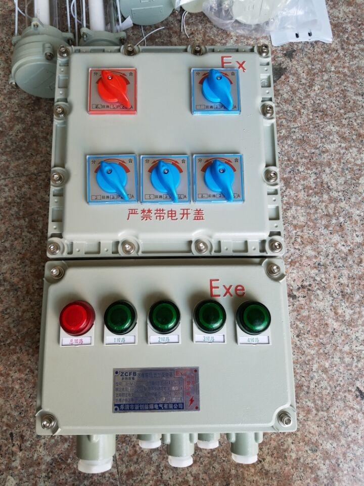 防爆觸摸屏控制配電箱