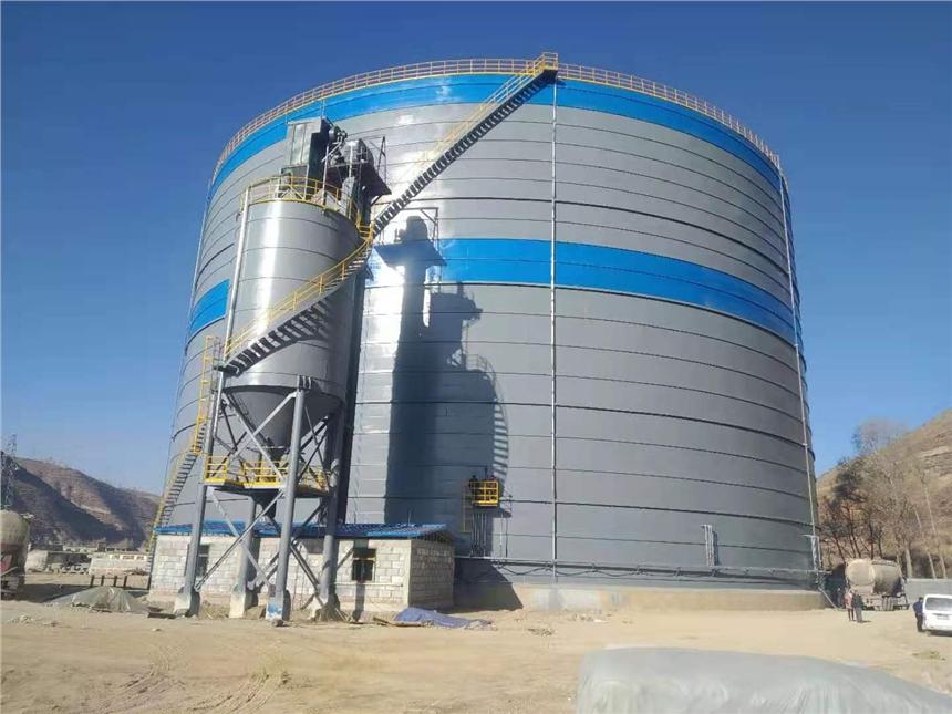 泰安生產大型鋼板庫 水泥鋼板倉