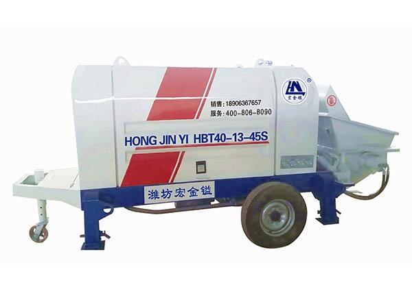 潍坊小骨料混凝土泵厂家
