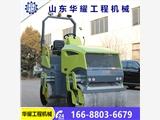 山东济宁华耀压路机的柱塞泵品质好   双钢轮压路机产地  小型路面机械设备   2吨压路机