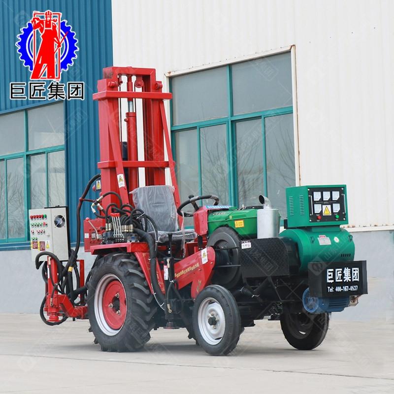 巨匠直销JZ-C系列拖拉机载正循环打井机 民用钻井机 水井钻机