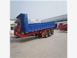 余杭區出口挖機運輸平板掛車集裝箱骨架車自卸車