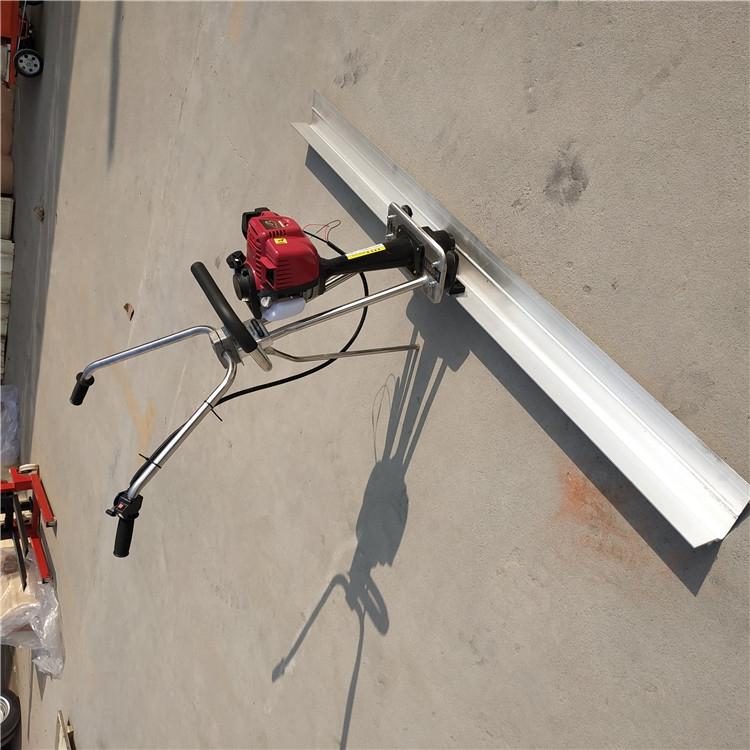 后拉式框架式整平机 2米加长地坪整平机械 定制规格