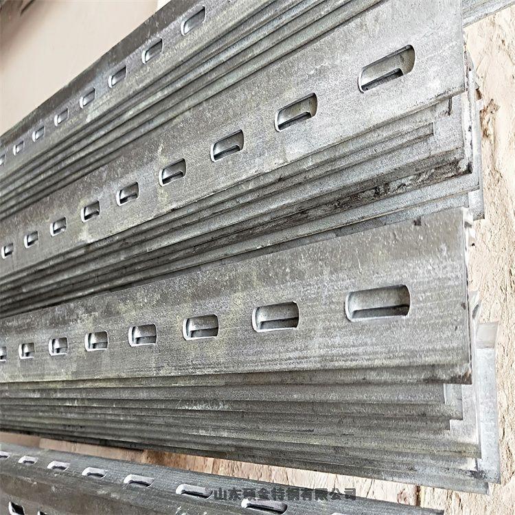 江西南昌电厂用冲孔角钢厂家定做