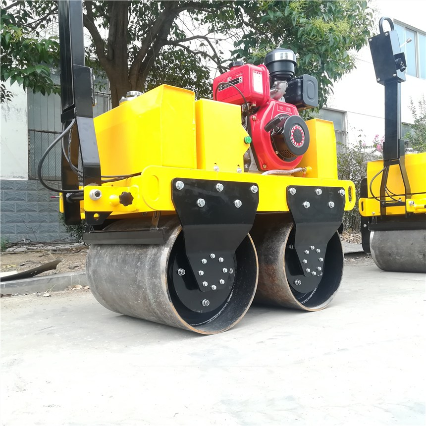 手扶式壓路機 雙鋼輪壓路機 小型壓路機價格