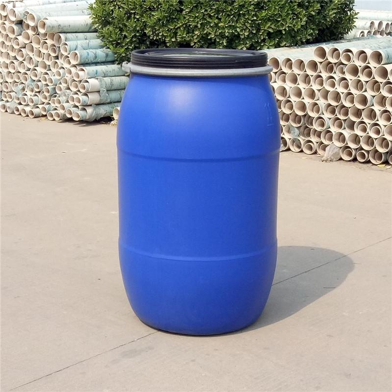 山东塑料桶200l法兰桶200kg铁箍桶生产厂家