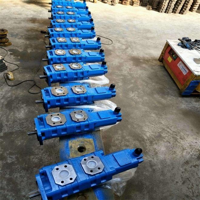 广西煤机三联齿轮泵R1-F804040R5-F20齿轮泵