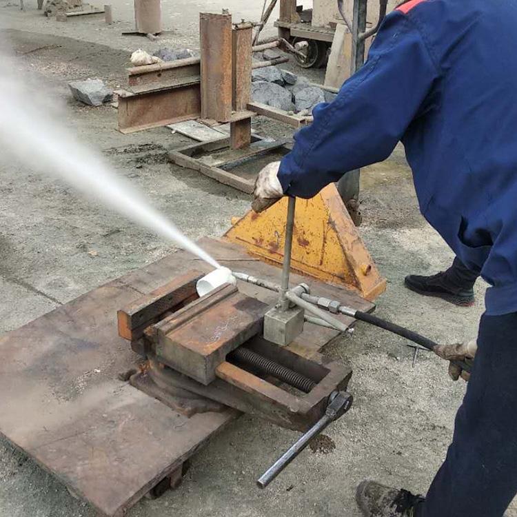江西化工水切割機便攜式水切割機切割油罐管道安全防爆環保