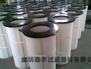 耐高温粉尘滤筒防静电滤筒 防静电粉尘滤筒厂家直销加工定做