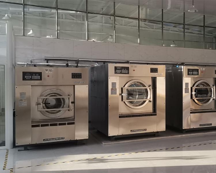 150公斤全自动变频工业洗衣机 上海百强洗涤设备厂家直供