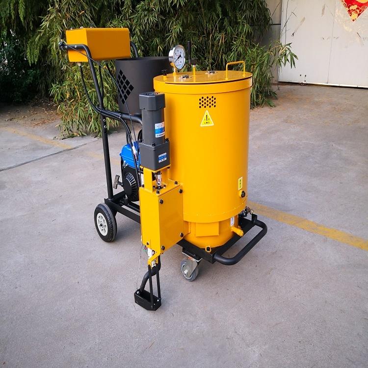 山東瀝青灌縫機路面手扶式灌縫機