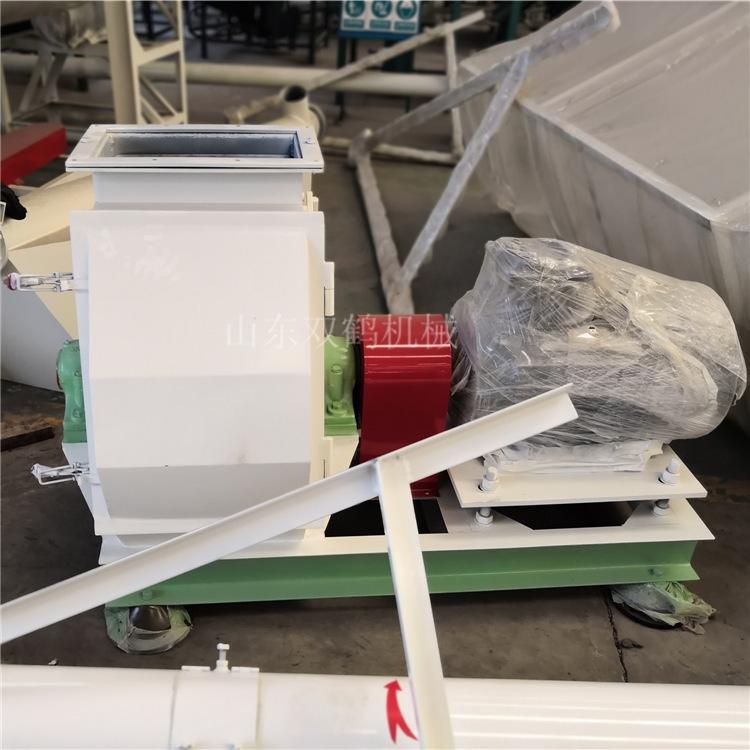 玉米芯粉碎機組 成套設備廠家 山東飼料機 飼料玉米稻殼加工機組