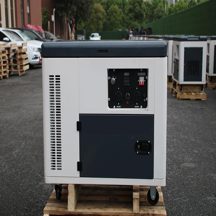 西零度小型静音型5KW柴油发电机生产厂家