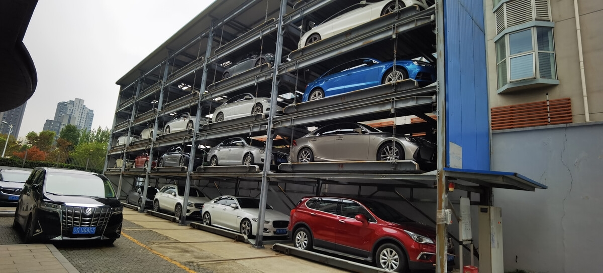 濟南回收立體車庫回收兩層機械車位回收立體停車位