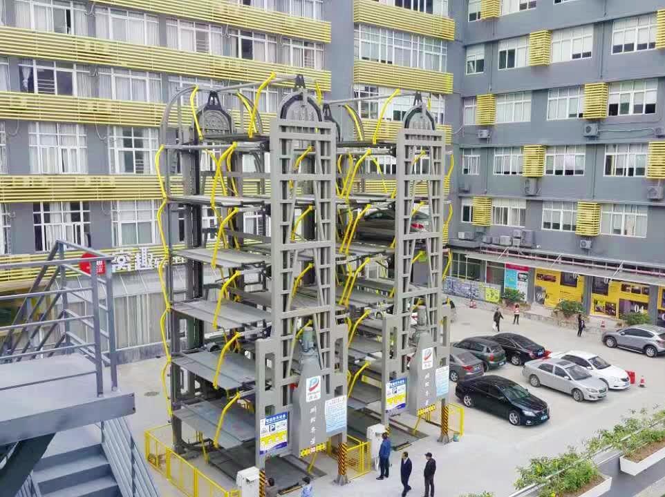 南昌出租機械車庫銷售兩層簡易升降機械